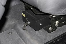 Tuffy Security 251-01 TJ 03-06 LJ SECURITY DRAWER WITH SEAT THAT FLIPS FORWARD Fits TJ 03-06/LJ where