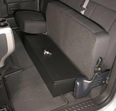 Tuffy Security 285-01 Under driver side rear seat lockbox for F-150 2009-Cur X-Cab; with or w/o subwoo