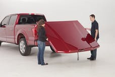 UnderCover UC1178L-G7C Elite LX Tonneau Cover Pull Me Over Red