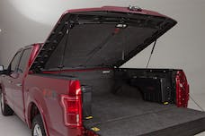 UnderCover UC2158L-YZ Elite LX Tonneau Cover Oxford White Paint Code YZ