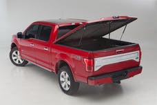 UnderCover UC3078L-PAU Elite LX Tonneau Cover Granite Crystal Paint Code PAU w/o Bed Rail Storage