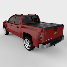 UnderCover FX11005 FLEX Tonneau Cover Black w/o Factory Bed Rail Caps w/o Cargo Channel System
