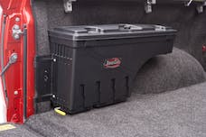 UnderCover SC502P Swing Case Storage Box Passenger Side Black Smooth