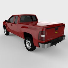 UnderCover UC1076L-74 LUX Tonneau Cover Victory Red Paint Code GCN/WA9260 w/o Factory Bed Rail Caps
