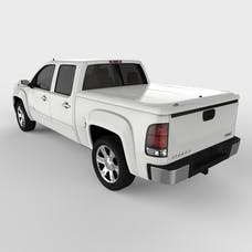 UnderCover UC1086L-50 LUX Tonneau Cover Olympic White/Summit White Paint Code GAZ/WA8624