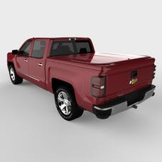 UnderCover UC1116L-66 LUX Tonneau Cover Sonoma Jewel Red