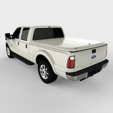 UnderCover UC2126L-UG LUX Tonneau Cover White Platinum Paint Code UG w/Tailgate Step