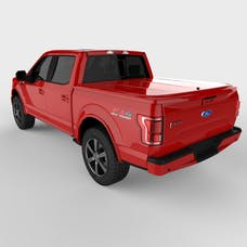 UnderCover UC2156L-PQ LUX Tonneau Cover Race Red Paint Code PQ