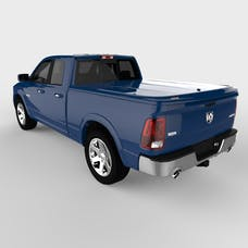 UnderCover UC3076L-PBU LUX Tonneau Cover True Blue w/o Bed Rail Storage