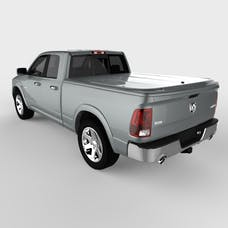 UnderCover UC3076L-PDM LUX Tonneau Cover Mineral Gray w/o Bed Rail Storage
