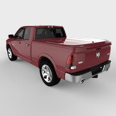UnderCover UC3076L-PRP LUX Tonneau Cover Deep Cherry Red w/o Bed Rail Storage