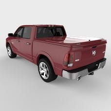 UnderCover UC3086L-PRP LUX Tonneau Cover Deep Cherry Red w/o Bed Rail Storage