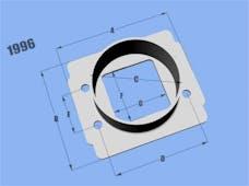 Vibrant Performance 1996 Mass Air Flow Sensor Adapter Plate