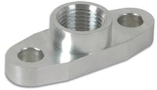 "Vibrant Performance 2853 Aluminum Oil Flange for GT32-GT55R (Tapped - 1/2"" NPT)"