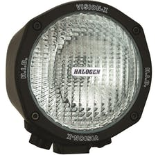 "Vision X 4000735 5"" Round 100 Watt Tungsten Halogen Flood Beam"