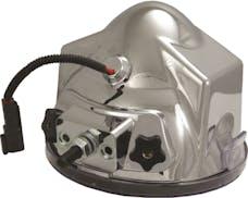 "Vision X 4004627 6.7"" Round 50 Watt HID Flood Beam Lamp"