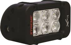 "Vision X 9117409 5"" Xmitter Prime Xtreme LED Bar Blk 6 5-Watt LED's 10 deg Narrow"