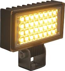 "Vision X 9119298 3.4"" X 1.9"" Utility Flood Black 32 Amber LEDs"
