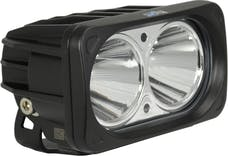 Vision X 9124605 Optimus Series Prime Black 2 10W LED,10 Deg Beam