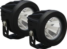Vision X 9141435 Optimus Series Prime Round Black 1 10w LED 60° Flood Kit Of 2 Lights