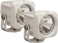 Vision X 9148458 Optimus Series Prime Square White 1 10w LED 60° Flood Kit Of 2 Lights