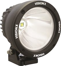"Vision X 9150970 4.72"" Cannon Black 1 25W LED 10º Narrow"