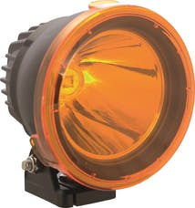 """Vision X 9157726 4.5"""" Cannon Light Polycarbonate Cover Yellow"""