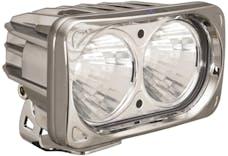 Vision X 9166636 Optimus Series Prime Square Chrome 2 10w LEDs 20° Medium
