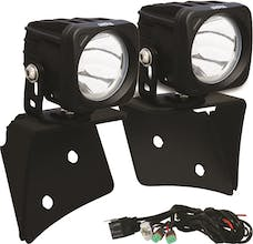 Vision X 9888408 A Pillar Mounts with Optimus Set And Harness