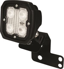 Vision X 6052082 Single Left 2/4 Seat RZR D Pillar Mount And Dura 4 Led 60 Degree Light Kit