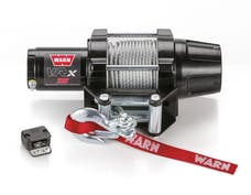 WARN 101035 VRX 35 Wire Rope Winch; Black