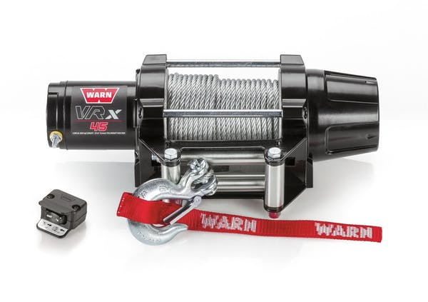 WARN 101045 VRX 45 Wire Rope Winch; Black