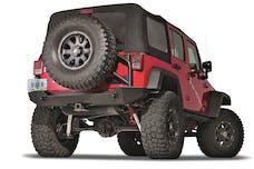 WARN 89525 Elite Series Rear Bumpers