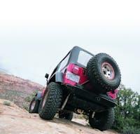 WARN 61857 Rock Crawler Rear Bumper
