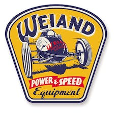 Weiand 10004WND SIGN - WEIAND POWER/SPEED - METAL