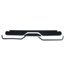 WESTiN Automotive 00007147 Bumper Step Pad Replacement 4pc Black