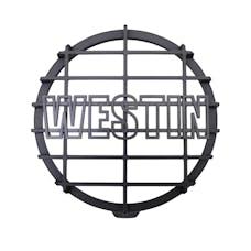WESTiN Automotive 09-0505C 6 in Quartz-Halogen Off-Road Light Cover (Black Grid Only)