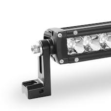 WESTiN Automotive 09-12270-10F XP LED Light Bar Low Profile Single Row 10 inch Flood w/5W Cree