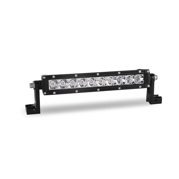 WESTiN Automotive 09-12270-10S XP LED Light Bar Low Profile Single Row 10 inch Flex with 5W Cree