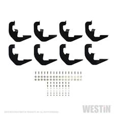 WESTiN Automotive 27-2255 Running Board Mount Kit Black