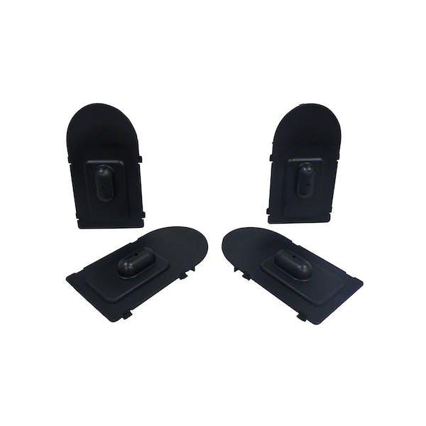 WESTiN Automotive 27-9902 Molded Running Board Light Cavity Cover Black