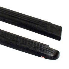 WESTiN Automotive 72-00151 Ribbed Bed Caps without Stake Holes Black