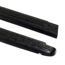 WESTiN Automotive 72-00411 Ribbed Bed Caps without Stake Holes Black