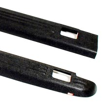WESTiN Automotive 72-01114 Ribbed Bed Caps with Stake Holes Black