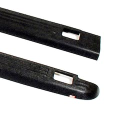 WESTiN Automotive 72-01151 Ribbed Bed Caps with Stake Holes Black