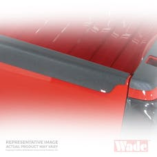 WESTiN Automotive 72-01771 Smooth Tailgate Cap Black