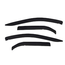 WESTiN Automotive 72-31486 Tape On Wind Deflector 4pc Smoke