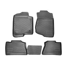 WESTiN Automotive 74-03-41003 Profile Floor Liners Front & 2nd Row Black
