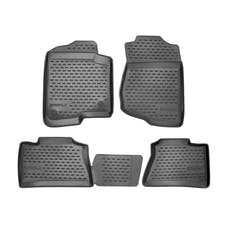 WESTiN Automotive 74-03-41006 Profile Floor Liners Front & 2nd Row Black