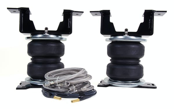 Air Lift 89388 LoadLifter 5000 Ultimate Plus with stainless steel air lines